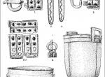 Fig. 1. Selected finds from Jędrzychowice (I. Bona 1991).