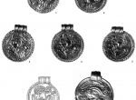 Fig. 1. Scandinavian bracteats from Karlino (Tybulewicz 2011, p. 146, fig. 4)