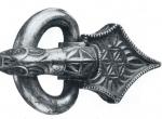 Fig. 3. Siver buckle from the Zagórzyn Hoard (A. Bursche 1998).