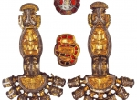 Fig. 2. Matching brooches from a Langobard grave, cemetery at ? Hungarian Kajdacs, in Pannonia (M. Hegewisch 2009).