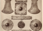 Fig. 3. Untersiebenbrunn, elements of horse harness (W. Kubitschek op.cit., Plate IV).