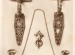"""Fig. 1. Ornaments and dress accessories from the burial at Untersiebenbrunn (W. Kubitschek, Grabfunde in Untersiebenbrunn (auf dem Marchfelde), """"Jahrbuch für Alterumskunde"""" 5, 1911, Plate I)."""