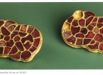 Fig. 2. Brooches from the Bavarian cemetery at Pocking-Inzing (Epocha Merovingov. Europa bez granic. Merowingerzeit. Europa ohne Grenze. The Merovingian Period. Europe without borders, München 2007, Fig. 7, p. 191).