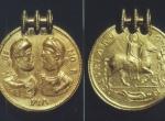 Fig. 3. Zagorzyn, imitation medallion of Valentinian I and Valens (Staatliche Museen zu Berlin, Preußischer Kulturbesitz).